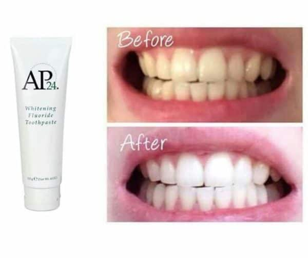 AP24 toothpaste effects