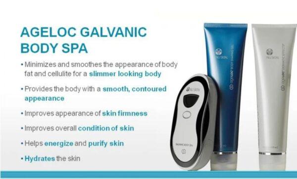 Nuskin ageloc body spa kit discount on sale promotion