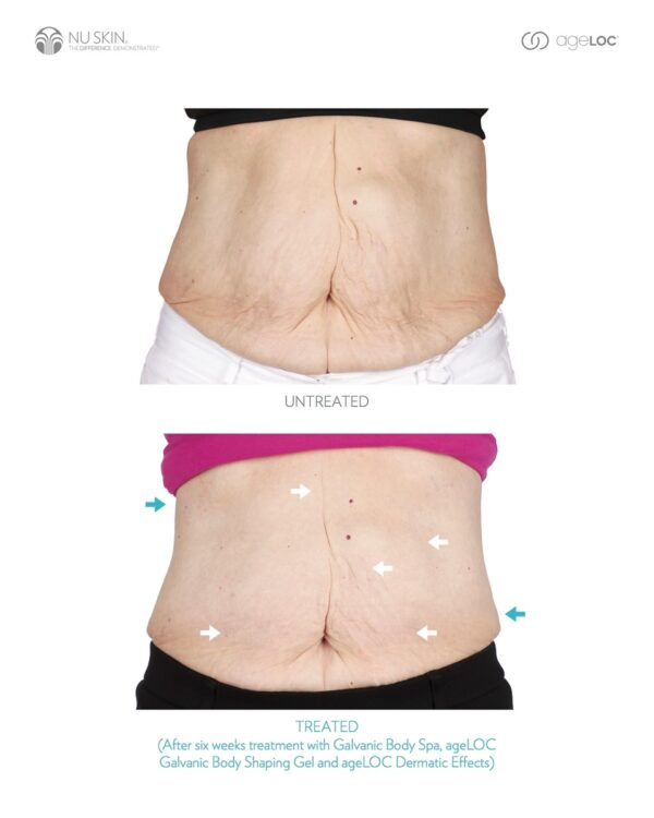 Nu skin ageloc body spa reviews before and after results