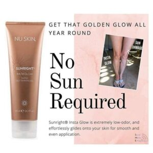 Nu Skin sunright Insta Glow tanning gel discount on sale promotion