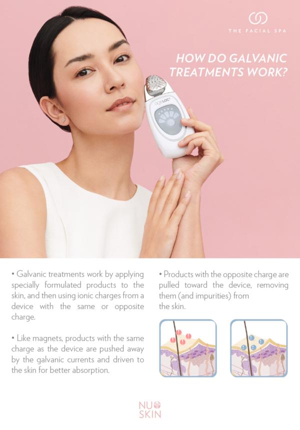Nuskin ageloc galvanic facial spa kit discount on sale promotion