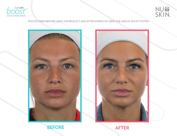 Nu Skin Ageloc Boost reviews before and after results - nubeautyonline