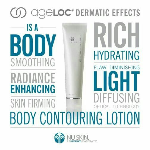 Nu skin ageloc Dermatic Effect body firming lotion discount on sale