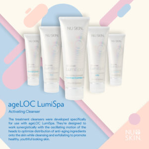 Nu Skin ageloc Lumispa activating Cleanser discount price on sale