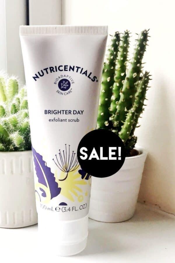 Nutricentials Brighter Day Exfoliant Scrub Discount Price