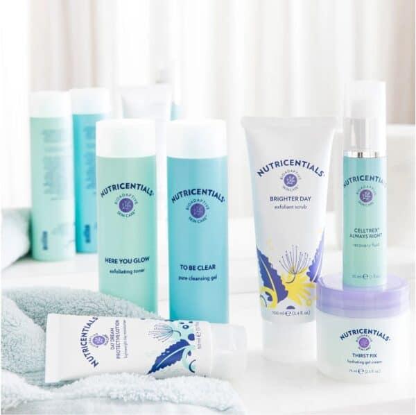 Nutricentials Bioadaptive Skin Care™ Brighter Day Exfoliant Scrub full set